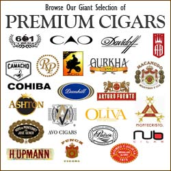 We have an extensive selection of over 40 top brand name premium cigars.  learn about and buy your favorite premium cigars on GothamCigars.com - Click here to see our selection.