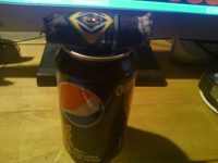 Pepsi Max and CAO Brazilia GOL go well together - try it sometime.
